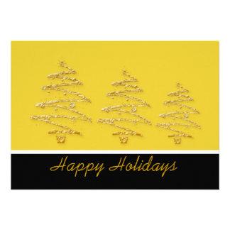 Christmas tree holiday party elegant invite