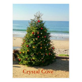 Christmas Tree Holiday Postcard