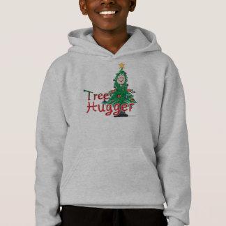 Christmas Tree Hugger Hoodie