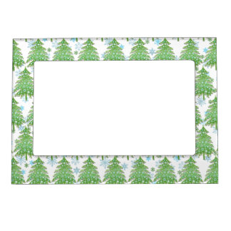 Christmas Tree Hugger magnetic frame