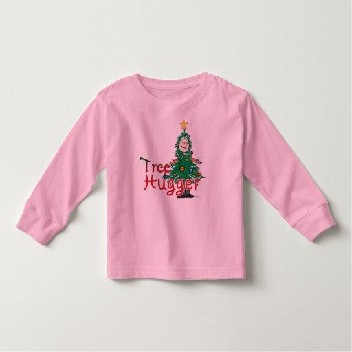 Christmas Tree Hugger Toddler T-shirt