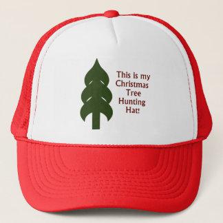 Christmas Tree Hunting Hat