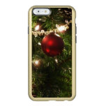 Christmas Tree I Holiday Pretty Green and Red Incipio Feather Shine iPhone 6 Case