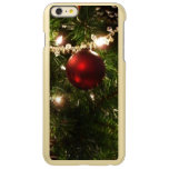 Christmas Tree I Holiday Pretty Green and Red Incipio Feather Shine iPhone 6 Plus Case