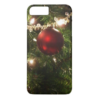 Christmas Tree I Holiday Pretty Green and Red iPhone 7 Plus Case