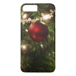 Christmas Tree I Holiday Pretty Green and Red iPhone 8 Plus/7 Plus Case
