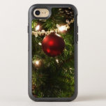 Christmas Tree I Holiday Pretty Green and Red OtterBox Symmetry iPhone 8/7 Case