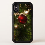 Christmas Tree I Holiday Pretty Green and Red OtterBox Symmetry iPhone X Case