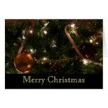 Christmas Tree III Custom Holidays (Blank Inside) Card