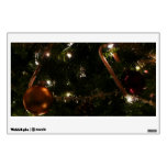 Christmas Tree III Holiday Candy Cane and Ornament Wall Sticker