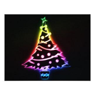 christmas tree invitations