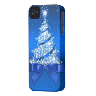 Christmas Tree iPhone 4 ID Case-Mate