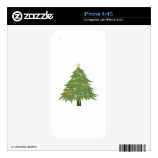 Christmas Tree iPhone 4 Skins