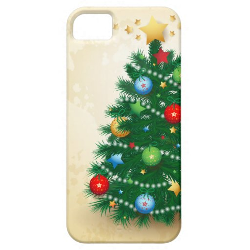 Christmas tree, iPhone 5 case