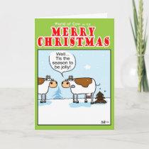 Christmas Tree-ish Holiday Card