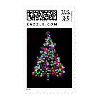 Christmas Tree Jewels Postage