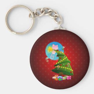 Christmas Tree Keychain