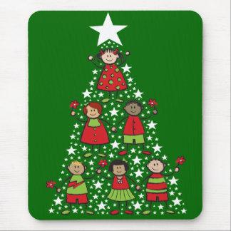 Christmas Tree Kids Holiday Mousepad