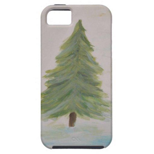 Christmas Tree landscape image iPhone 5 Case