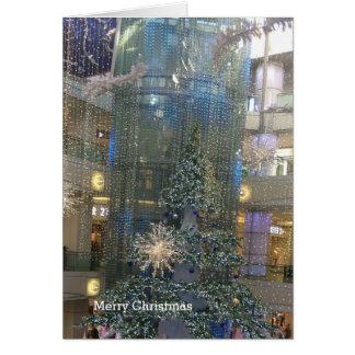 Christmas Tree Light Display Card
