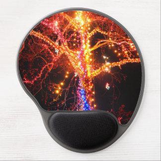 Christmas Tree Lights Abstract Gel Mousepads