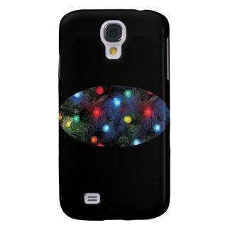 Christmas Tree Lights Galaxy S4 Covers