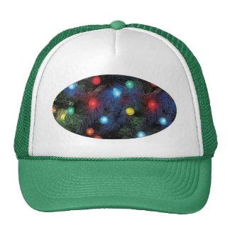 Christmas Tree Lights Trucker Hat