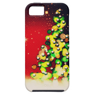 Christmas Tree - Lights & Sparkles ! iPhone 5 Case