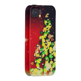 Christmas Tree - Lights & Sparkles ! Vibe iPhone 4 Cases