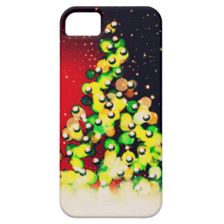 Christmas Tree - Lights & Sparkles ! iPhone 5 Covers