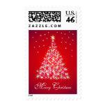 Christmas Tree Lights Stamp