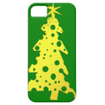 CHRISTMAS TREE MADE OF CHEESE iPHONE CASE