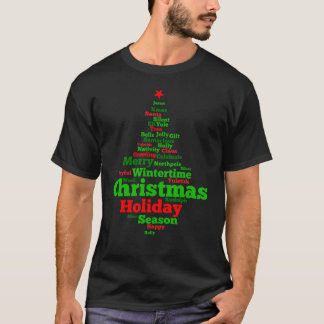 Christmas tree Men's Basic Dark T-Shirt