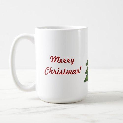 Christmas Tree-Merry Christmas! Coffee Mug
