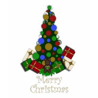 Christmas Tree Merry Christmas Tshirt shirt