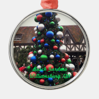 Christmas Tree Metal Ornament