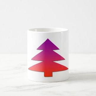 Christmas tree mugs