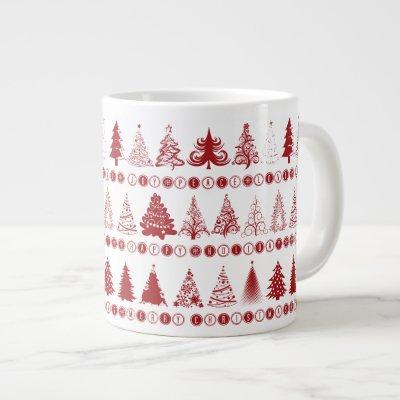 Christmas Tree Mug Jumbo Mug