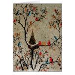 Christmas Tree Nest ~ Card