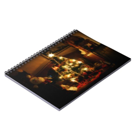 Christmas Tree Notebook