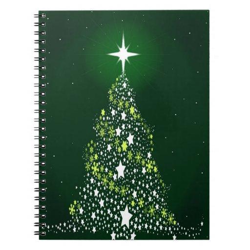 Christmas Tree Notebook. Spiral Notebooks
