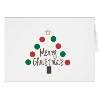 Christmas Tree Notecard Greeting Card