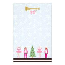 Christmas tree, Nutcracker, ballerina Stationery