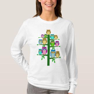 Christmas tree of owls T-Shirt