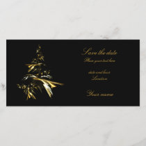 Christmas Tree on Black 001 Save The Date