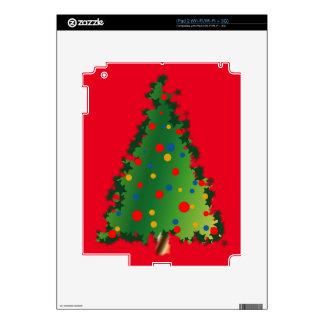 Christmas Tree on iPad 2 Skin