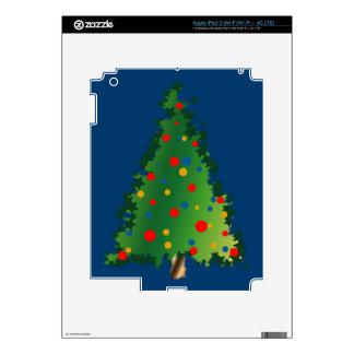 Christmas Tree on iPad 3 Skin