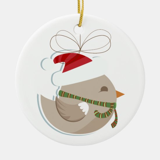 Christmas Tree Ornament - Bird