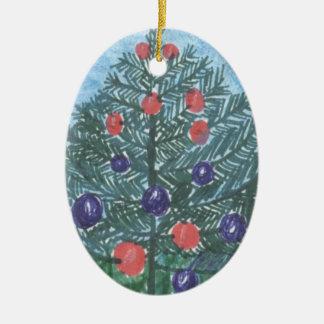 Christmas Tree Ornament by Julia Hanna