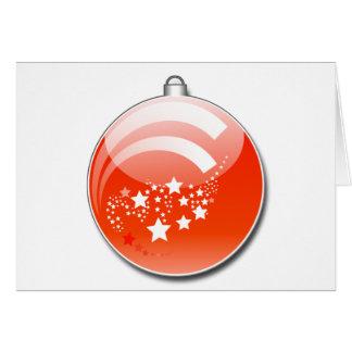 Christmas Tree Ornament Card